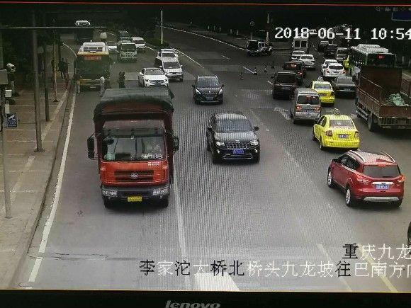九龙坡锦龙路往毛线沟交通中断 请改道滩子口或内环