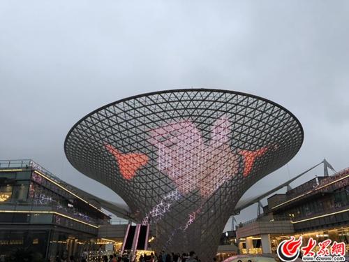 """王力宏演唱会上海送惊喜 """"龙的传人""""闪耀世博阳光谷"""