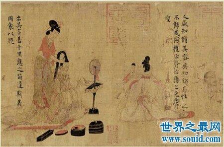 上官婉儿相貌复原图引来当时的一阵轰动(www.souid.com)