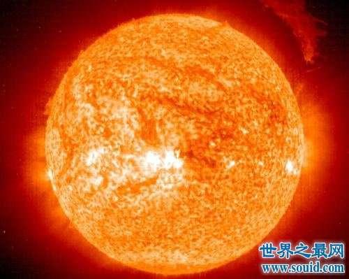 已知最大的星体 跟太阳比大得不是丁点半点