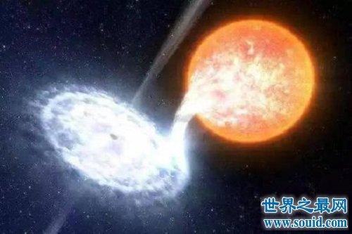 已知最大的星体 跟太阳比大得不是丁点半点(www.souid.com)