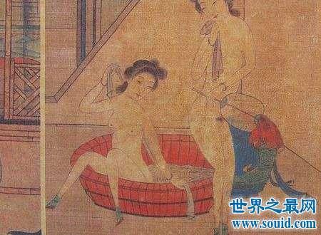 春宵秘戏图没想到古代人有这么的开放