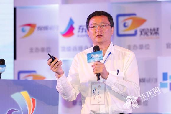 【聚焦第四届观媒峰会】专访中国网王晓辉:媒体融合发展更多是与用户的融合