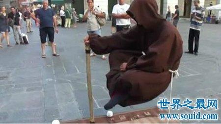 解答奥秘之神奇的悬浮魔术你知道其中的奥秘吗(www.souid.com)