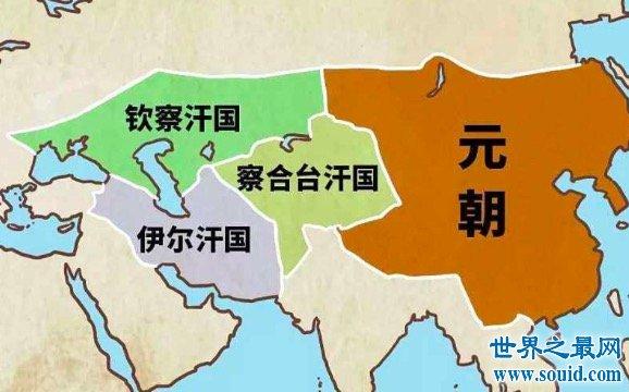 元朝疆域图看起来十分雄伟壮阔可这些土地竟是这样得来的(www.souid.com)