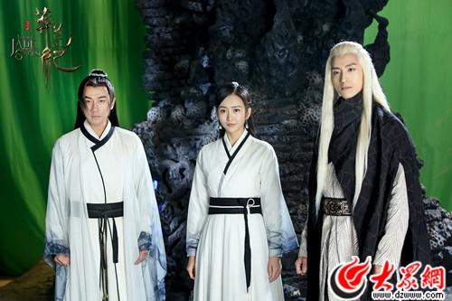 电视剧《莽荒纪》对决正式打响  刘恺威王鸥张峻宁组成秘密联盟