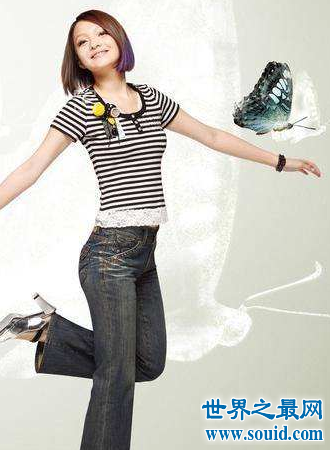 张韶涵身高大长腿天后的身高仅比你知道的高一点(www.souid.com)