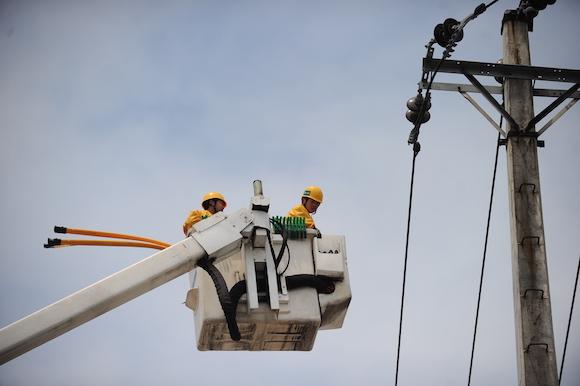 启动防汛演练 国网重庆市电力公司提醒:极端天气远离电网设备