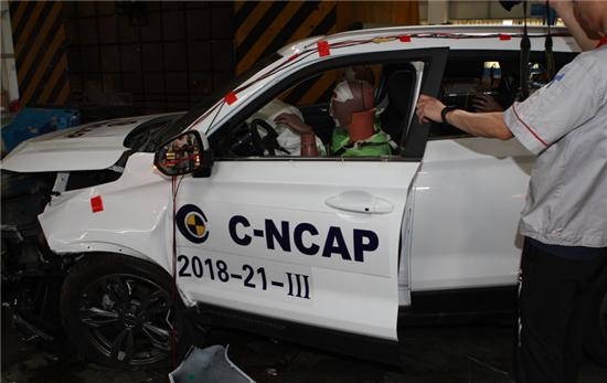 猎豹CS9获C-NCAP五星认证 彰显安全实力