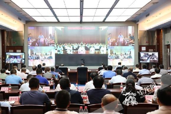 【重庆快讯】重庆召开全市防汛抗旱工作电视电话会 对防汛形势再部署