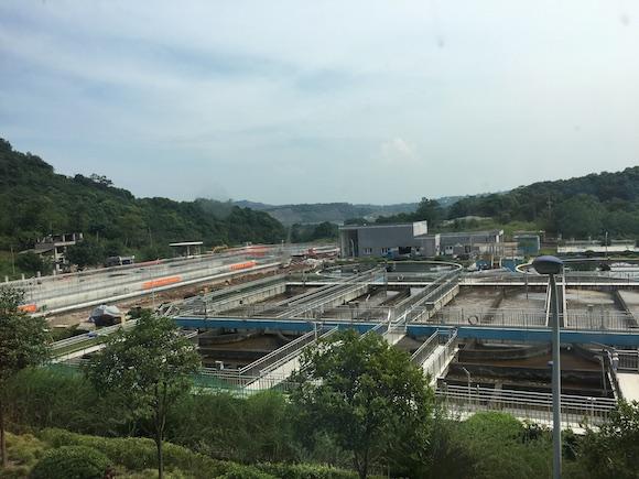 西彭污水处理厂扩建工程主体完工 已进入试运行阶段
