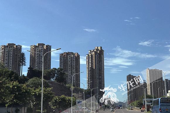 """重庆近日晴热因为啥原是副高""""不肯走"""""""