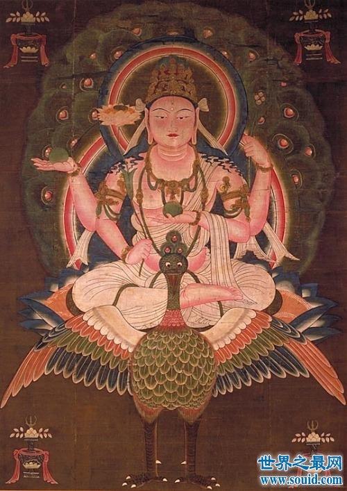 孔雀大明王菩萨的何方神圣 如来佛祖认他做母亲(www.souid.com)