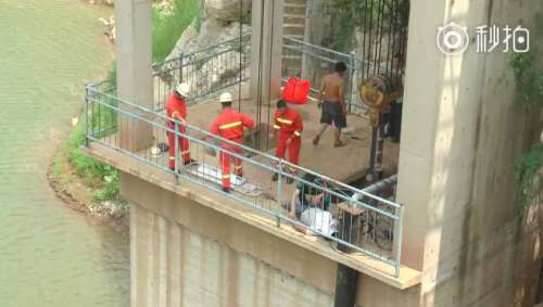 高空作业务必注意安全!涉县一男子室外工作不慎从7米高台坠落