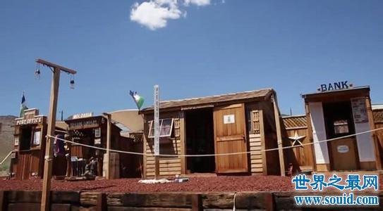 世界上最小的国家摩洛希亚共和国 被夹在美国沙漠(www.souid.com)