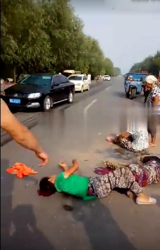 又是女司机!魏县大杨庄路段90后女司机连撞多人 现场惨烈!