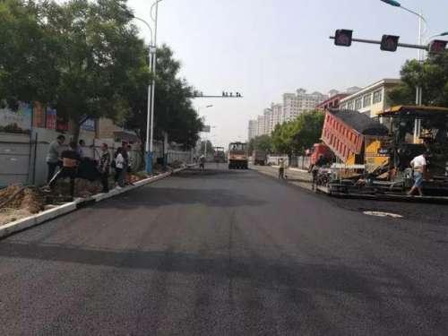 磁县市民请注意,滏阳大街改造工程主干道计划8月15日通车