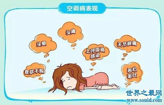 空调病的症状你知道多少 快来看看你中了几条(www.souid.com)