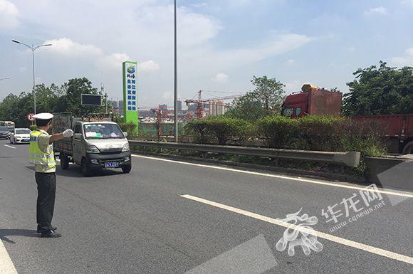 渝武高速特大桥梁检测工作预计今日完成