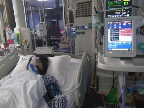 【考研路上突发心肌炎续】手术成功但恢复不乐观 仍需巨额医疗费