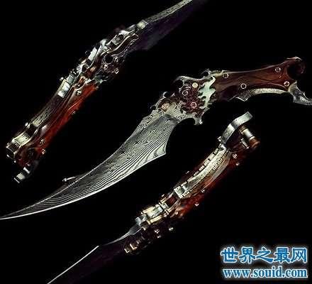 诡异之刀莎拉维尔  刀刃上竟沾满处女之血!
