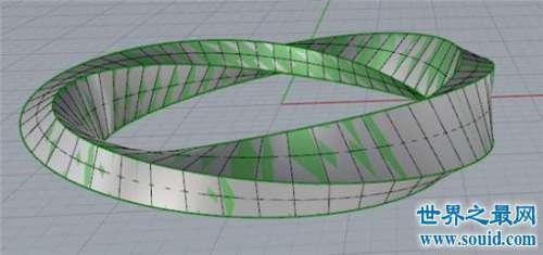 莫比乌斯环,依靠一个面可以无限轮回的它在爱情里面象征永恒