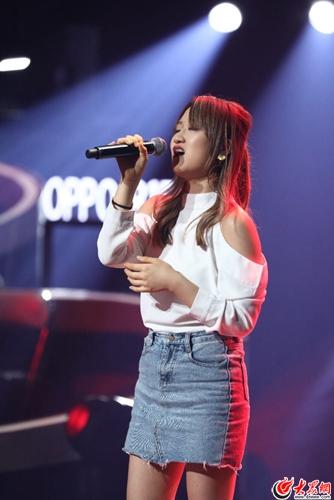 《中国好声音》大咖来袭《说散就散》原唱陈泳彤实力开唱