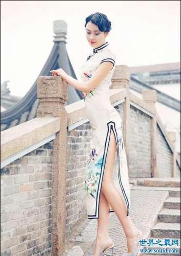 旗袍文化彰显中国女人风韵 举手抬头间充斥着优雅