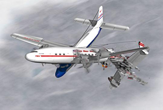 1956年大峡谷空中相撞事件