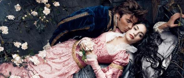 被王子吻醒的睡美人