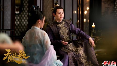 """是安《天盛长歌》开播 二皇子上线宁N喜提""""颜王""""美誉"""