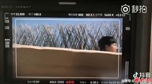 王子文最近有点皮隐身上线张鲁一秒变视频素材