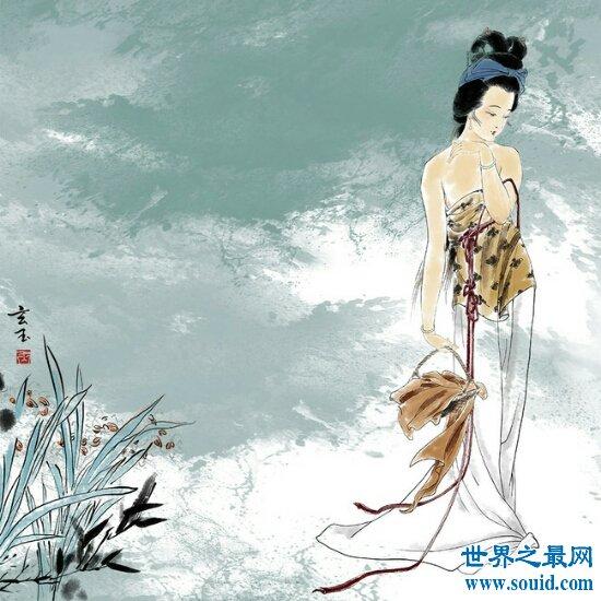 揭秘中国古代四大美女情感往事  貂蝉竟被献给董卓(www.souid.com)