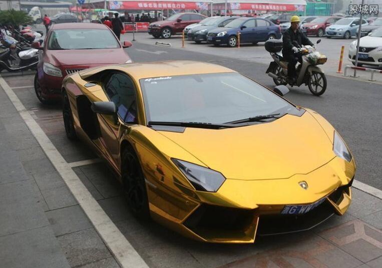 黄金跑车牌子