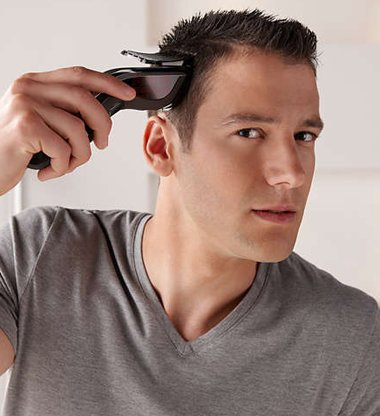 用推子剪头发技巧 推子推头发方法图解