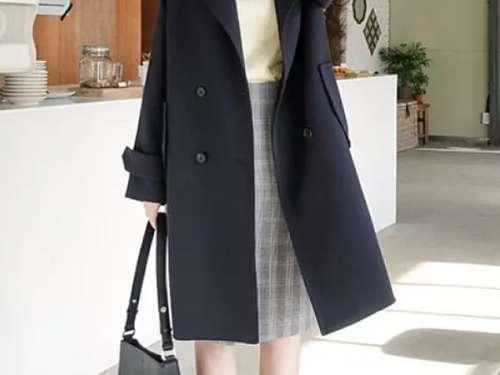 6种外套和裙装混搭,让你美过忽冷忽热十月天!