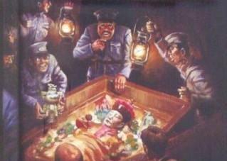 最恶心的图片 揭秘中国盗墓史上最恶心的奸尸事件(2)