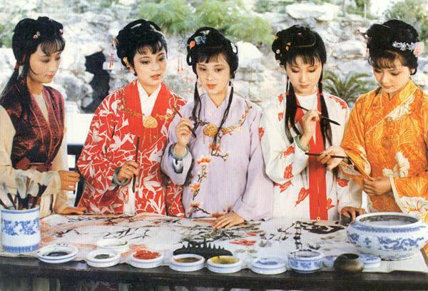 老照片:邓婕年轻的时候超水灵,蒋勤勤的西施才是真的倾国倾城