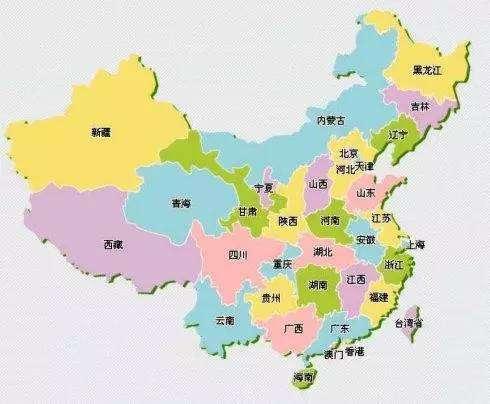 """一张图巧记中国""""各省份地图""""!太有才了"""