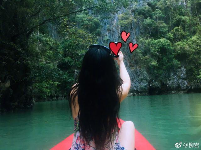 柳岩身穿泳衣峡谷写真 头戴花环仙气十足 网友:身材真心服气