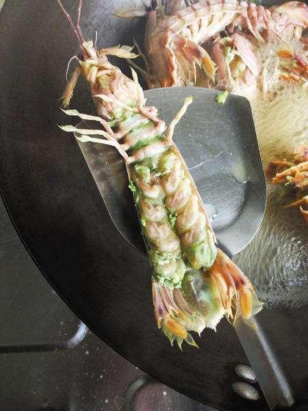 绿虾蛄 发绿的虾蛄到底能不能吃?好多人不懂,记住3点,这下放心了!