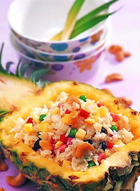 凤梨图片 凤梨其实也就是台湾菠萝