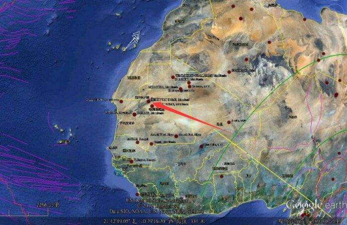 非洲之眼 至今未解的世界之谜:撒哈拉之眼