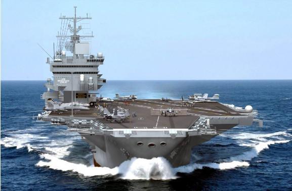 美国福特级航母 和美国福特级航母相比,国产航母简直让国人骄傲不已