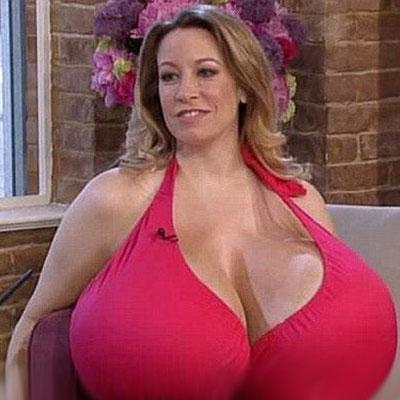 世界上谁的胸最大 世界上胸部最大的8个女人 中国妹纸竟然排第四
