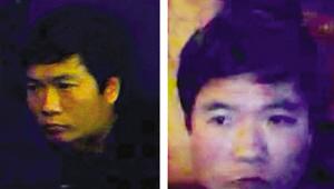 当时南京警方发布的嫌犯照片