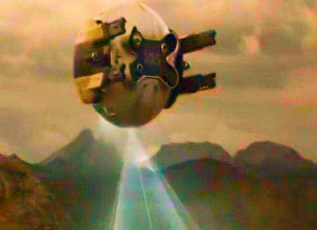 火星人波力斯卡死了 NASA拍到火星不明飞行器,波力斯卡:有火星人在地下