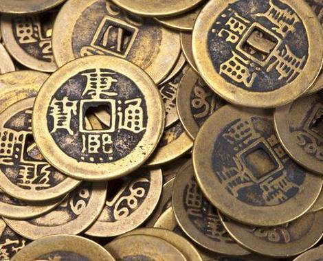 古代铜钱 为什么古代铜钱外圆内方?