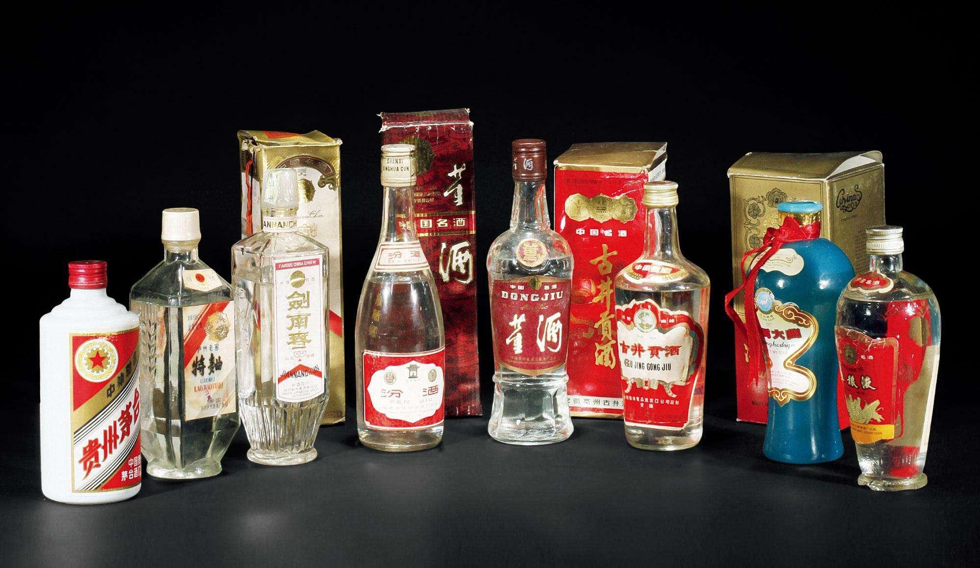 老八大名酒 中国老八大名酒排名(白酒排名)