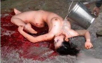 屠夫宰杀女人血腥恐怖图片曝光 手段极其残忍